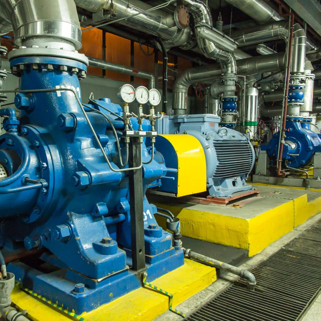 Fire Suppression for Gas or Diesel Generator Rooms